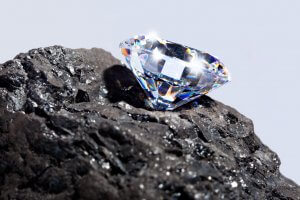 coal and diamond mining