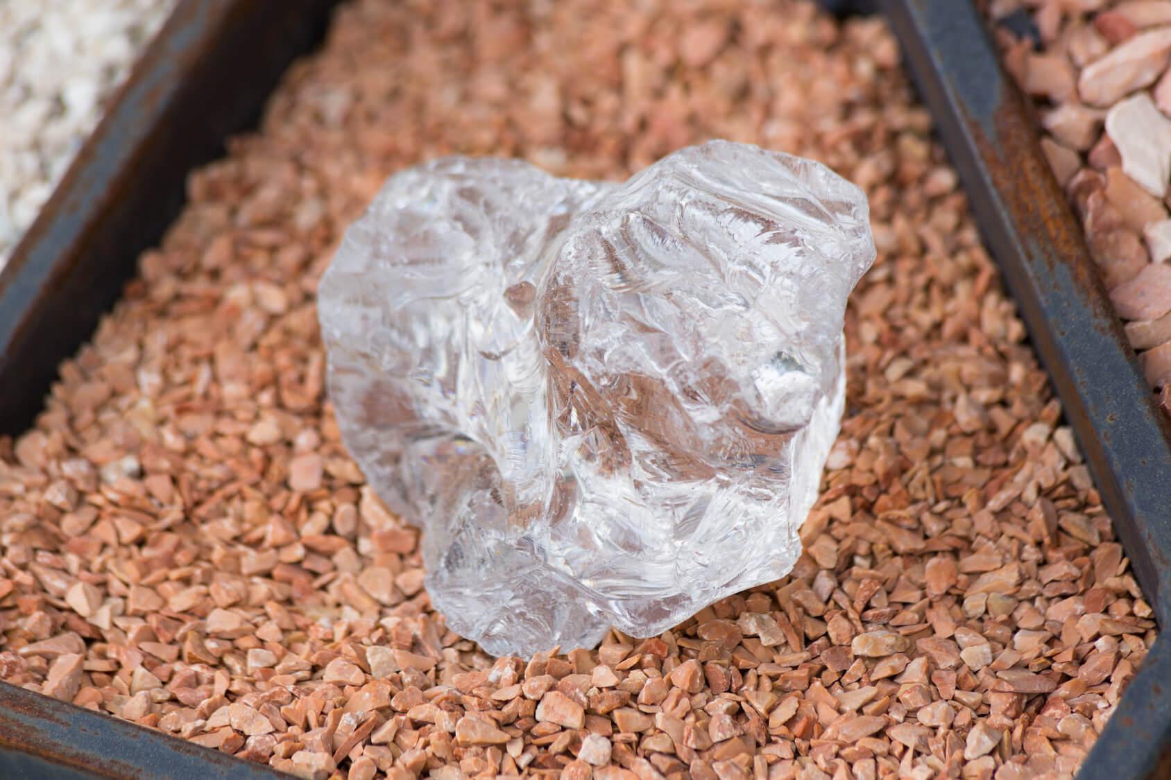 open diamond mining